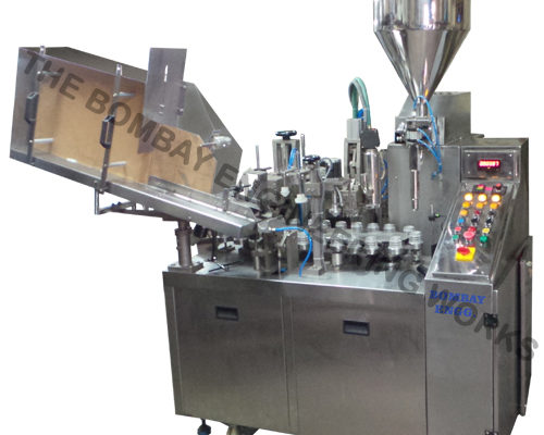 Linear-tube-filling-machine