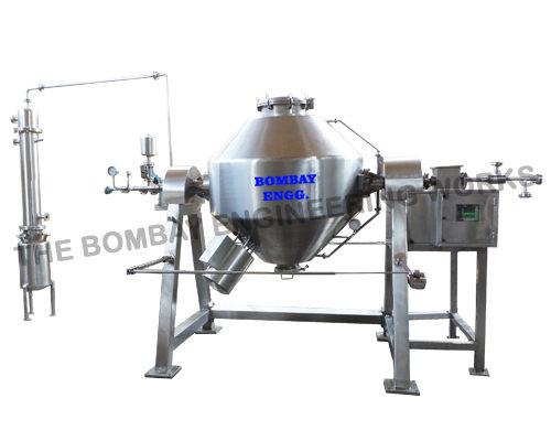 Rotocone-vacuum-dryer